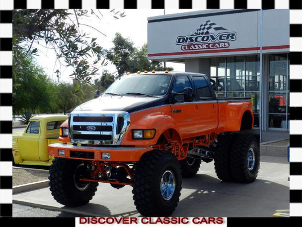 1999 ford f650 custom harley davidson edition monster truck for sale in scottsdale arizona
