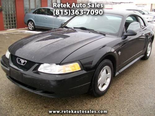 1999 ford mustang 35th anniversary edition black for sale in mchenry illinois classified. Black Bedroom Furniture Sets. Home Design Ideas