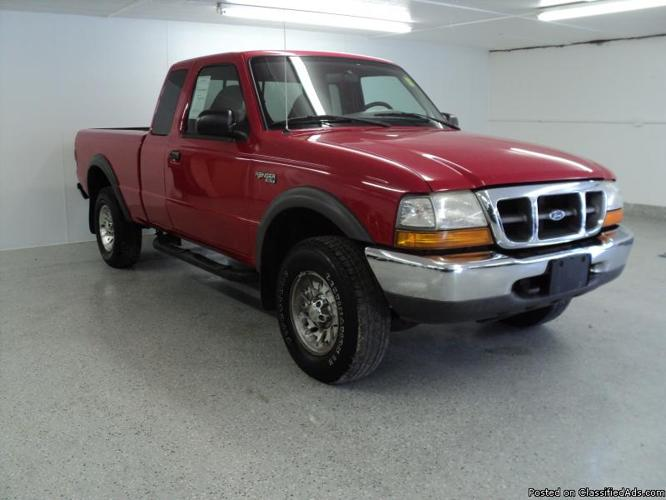 1999 Ford Ranger Xlt Supercab 4x4 For Sale In Downers