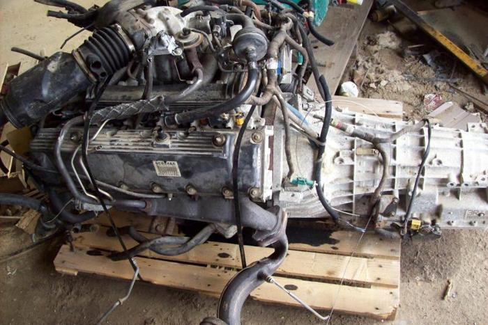 1999 Ford V10 Motor And Transmission For Sale In Elizabeth