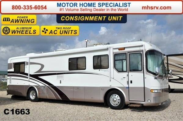 1999 Holiday Rambler Navigator 40wds W Slide Solar Panel