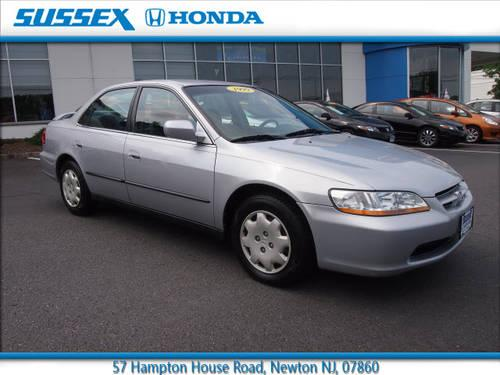 1999 honda accord 4 dr sedan lx for sale in fredon new jersey classified. Black Bedroom Furniture Sets. Home Design Ideas