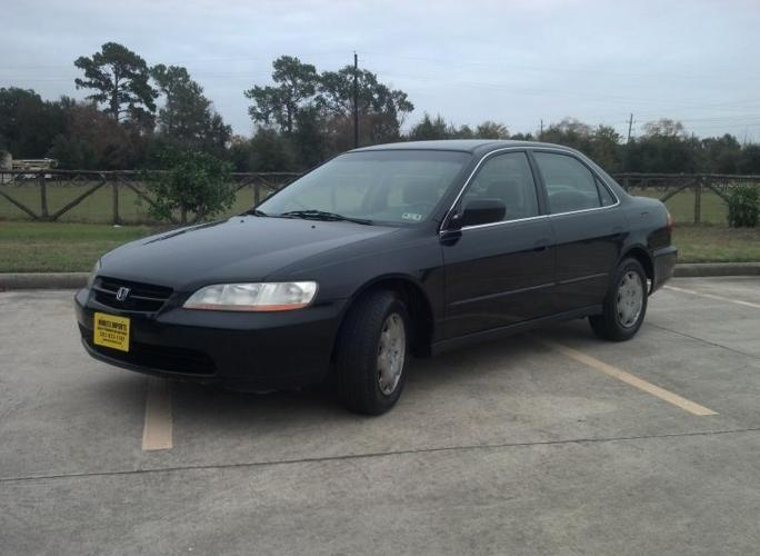 1999 honda accord lx automatic sedan xtra clean warranty autocheck for sale in spring texas. Black Bedroom Furniture Sets. Home Design Ideas