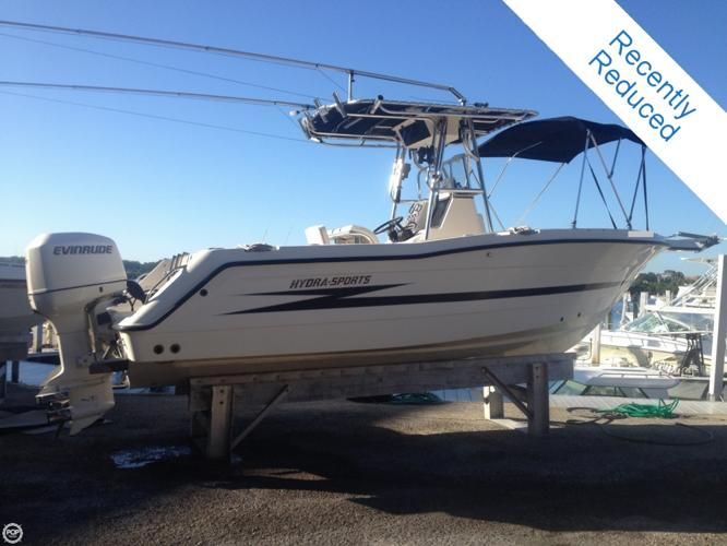 1999 Hydra Sports 2450 Vector For Sale In Sarasota