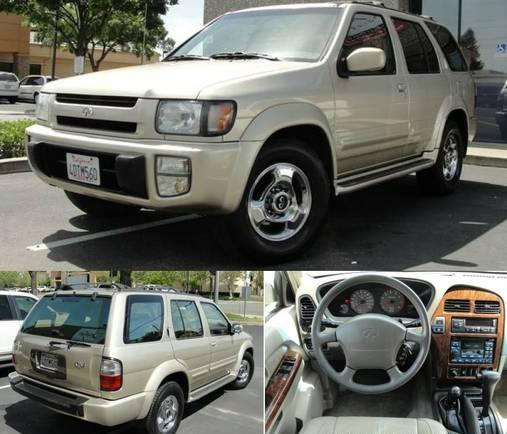1999 infiniti qx4 4x4 awd 103k super low miles immaculate. Black Bedroom Furniture Sets. Home Design Ideas
