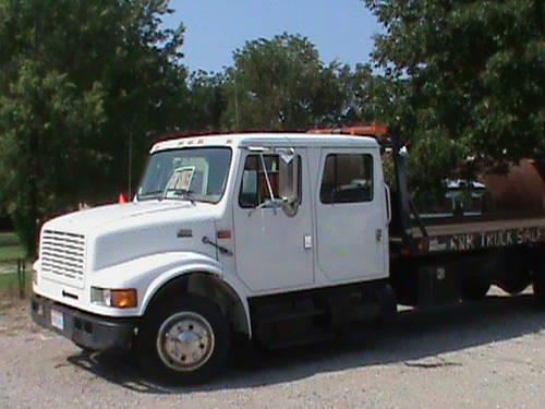 1999 International crew cab rollback-46K Mi. for Sale in