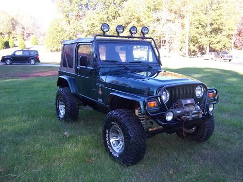 1999 Jeep TJ Sahara Rock Crawler