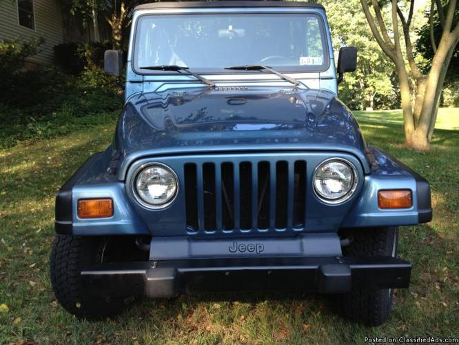1999 jeep wrangler for sale in alpine pennsylvania classified. Black Bedroom Furniture Sets. Home Design Ideas
