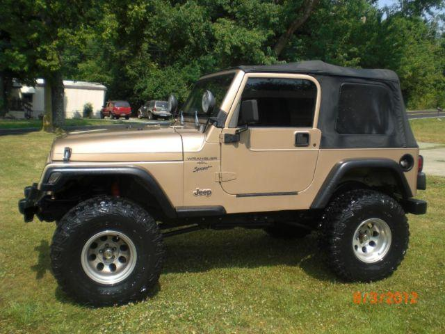1999 jeep wrangler for sale in cornishville kentucky classified. Black Bedroom Furniture Sets. Home Design Ideas