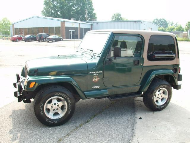 1999 jeep wrangler sahara for sale in louisa kentucky classified. Black Bedroom Furniture Sets. Home Design Ideas
