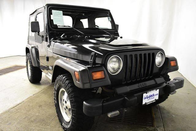 1999 jeep wrangler se 2dr se 4wd suv for sale in davenport iowa classified. Black Bedroom Furniture Sets. Home Design Ideas