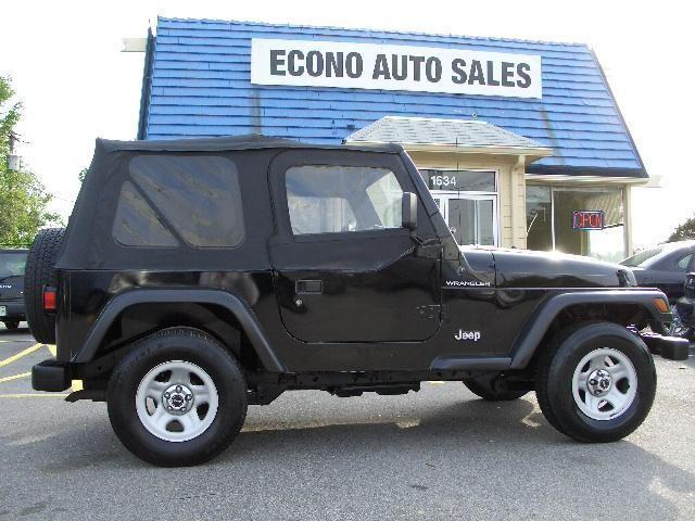1999 jeep wrangler se for sale in raleigh north carolina classified. Black Bedroom Furniture Sets. Home Design Ideas