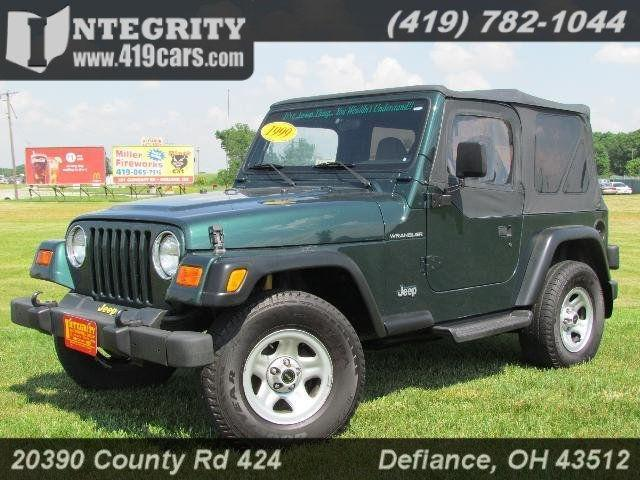 1999 jeep wrangler se 1999 jeep wrangler se car for sale in defiance oh 4368248204 used. Black Bedroom Furniture Sets. Home Design Ideas