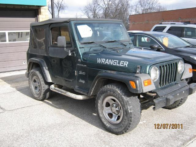 1999 jeep wrangler se for sale in dayton indiana classified. Black Bedroom Furniture Sets. Home Design Ideas
