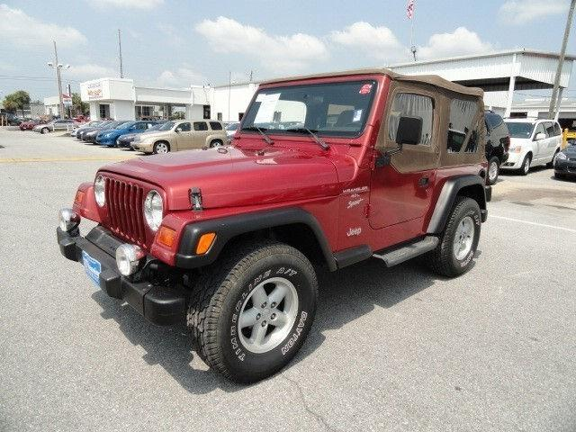 1999 jeep wrangler sport for sale in pensacola florida classified. Black Bedroom Furniture Sets. Home Design Ideas