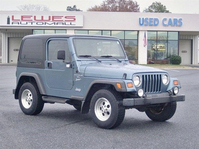 1999 jeep wrangler sport for sale in lewes delaware. Black Bedroom Furniture Sets. Home Design Ideas