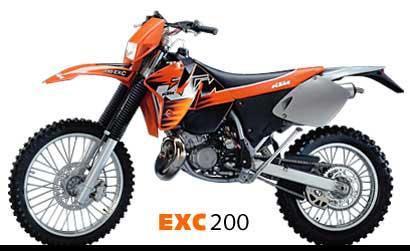 1999 KTM 200 E XC For Sale In Feasterville Trevose Pennsylvania