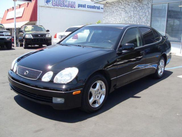 1999 Lexus Gs300 4dr Black Loaded Family Size Luxury