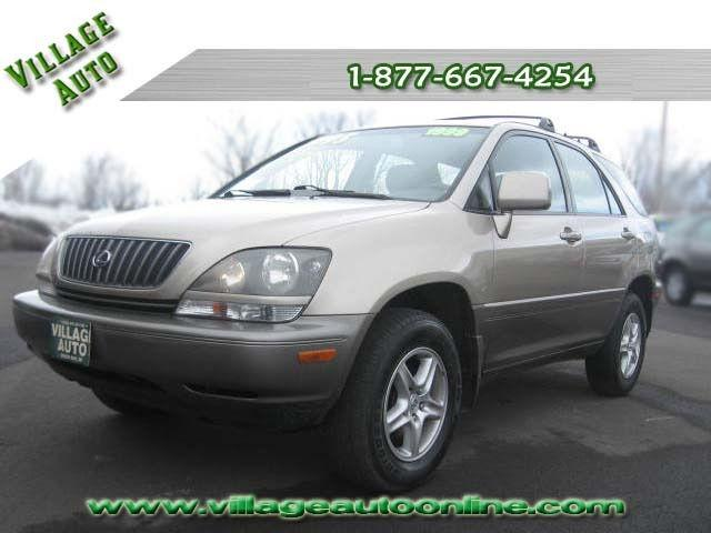 1999 lexus rx 300 4wd for sale in green bay wisconsin classified. Black Bedroom Furniture Sets. Home Design Ideas