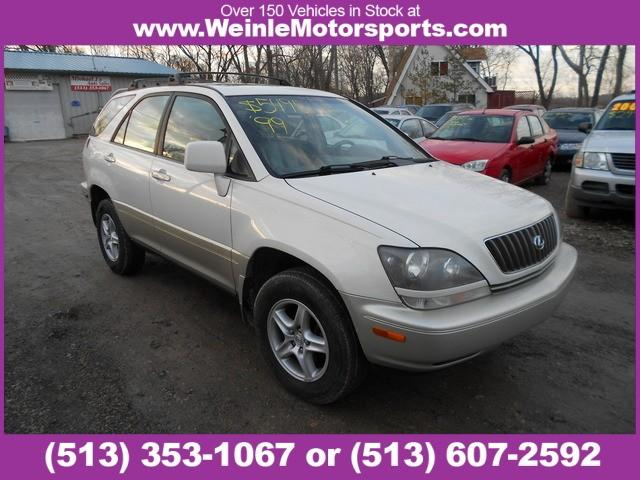 1999 lexus rx 300 luxury suv 4dr suv 4wd for sale in cleves ohio classified. Black Bedroom Furniture Sets. Home Design Ideas