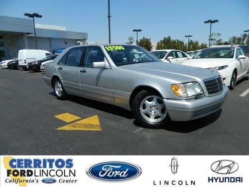 1999 mercedes benz s class s420 sedan 4d for sale in for Cerritos mercedes benz dealer