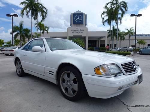 1999 mercedes benz sl class for sale in pompano beach for Mercedes benz of pompano
