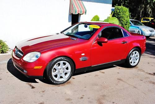 1999 mercedes benz slk 230 hardtop convertible for sale in