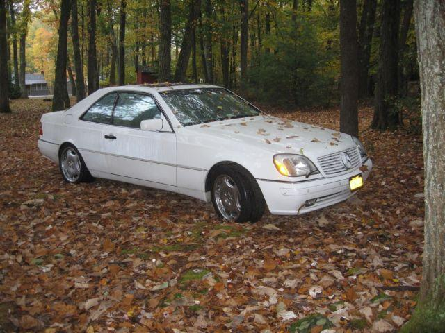 1999 mercedes cl500 big body coupe rare staten island for 1999 mercedes benz cl500 for sale