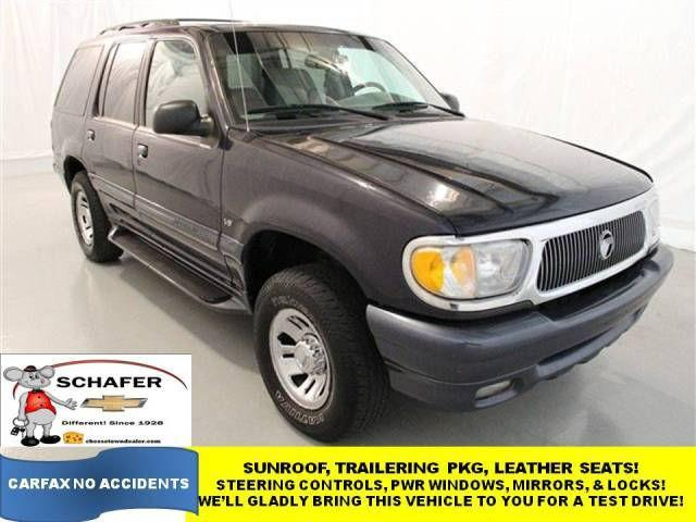 1999 Mercury Mountaineer For Sale In Pinconning  Michigan Classified