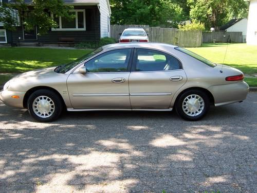 mercury sable ls  sale  galesburg michigan classified americanlistedcom