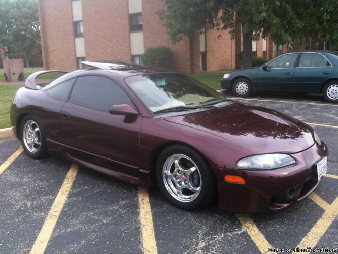 1999 mitsubishi eclipse gst for sale in joliet illinois classified. Black Bedroom Furniture Sets. Home Design Ideas