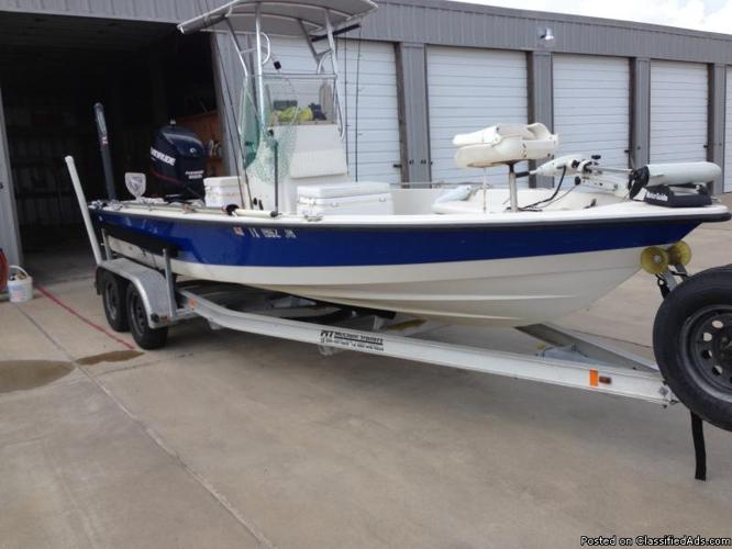1999 Pathfinder Boat With 2007 Evinrude 225 Motor For Sale