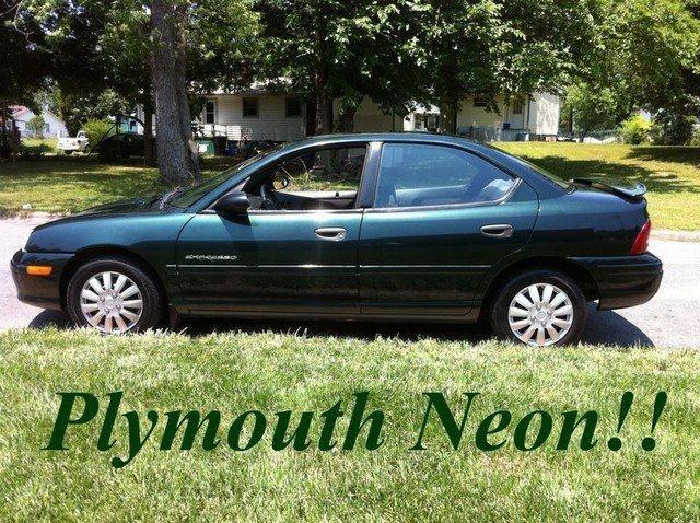 1999 Plymouth Neon Highline For Sale In Kernersville North Carolina