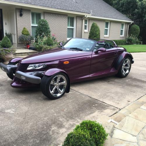 1999 Plymouth Prowler With Trailer,Hardtop,Softtop For
