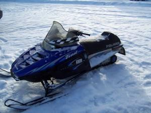 1999 Polaris Indy Trail Snowmobile Pine River Mn For