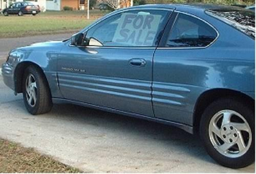 1999 pontiac grand am coupe se for sale in dunnellon florida classified. Black Bedroom Furniture Sets. Home Design Ideas