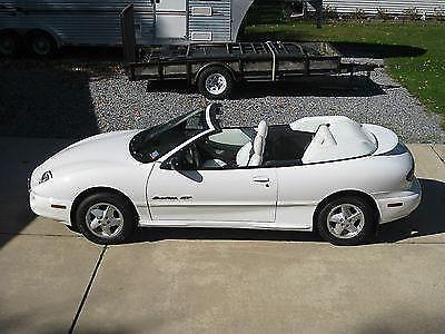 1999 pontiac sunfire gt convertible 2 door 2 4l for sale. Black Bedroom Furniture Sets. Home Design Ideas