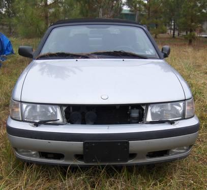 1999 saab 9 3 convertible project or parts car for sale in farmington north carolina classified. Black Bedroom Furniture Sets. Home Design Ideas