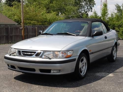 1999 saab 9 3 convertible with 85 000 miles only for sale in kokomo indiana classified. Black Bedroom Furniture Sets. Home Design Ideas