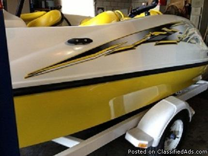 1999 seadoo speedster sk twin 110 motors , 4-seater and very fast