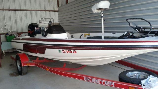 1999 skeeter sx186 bass boat for Sale in Cypress, Texas ...