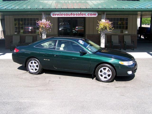 Ernies Auto Sales >> 1999 Toyota Camry Solara SLE V6 for Sale in North Adams, Massachusetts Classified ...