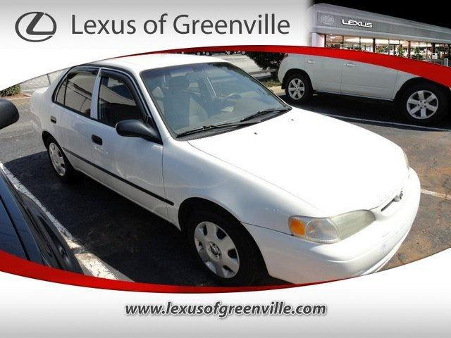 1999 toyota corolla ce for sale in greenville south. Black Bedroom Furniture Sets. Home Design Ideas