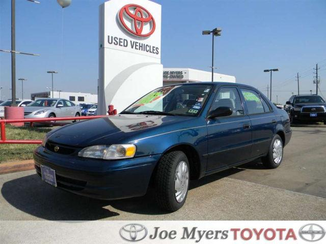 1999 toyota corolla ve for sale in houston texas. Black Bedroom Furniture Sets. Home Design Ideas