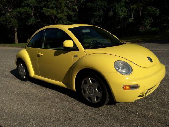 1999 vw beetle glx 5 speed 1 8l turbo yellow 74k miles for sale in bayville new jersey. Black Bedroom Furniture Sets. Home Design Ideas