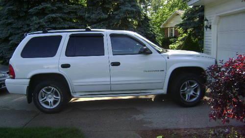 1999 white dodge durango slt 4x4 florida vehicle for sale in meskegon michigan classified. Black Bedroom Furniture Sets. Home Design Ideas
