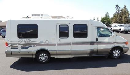 1999 winnebago vw rialta 21' rv 18mpg