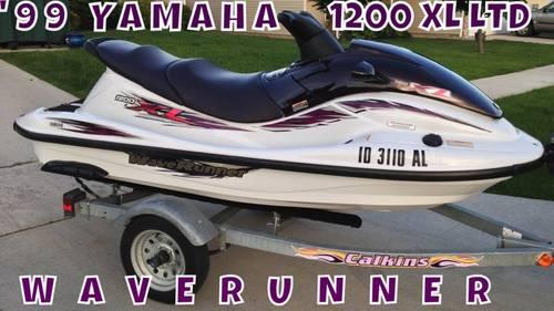1999 yamaha wave runner 1200 xl limited edition model for
