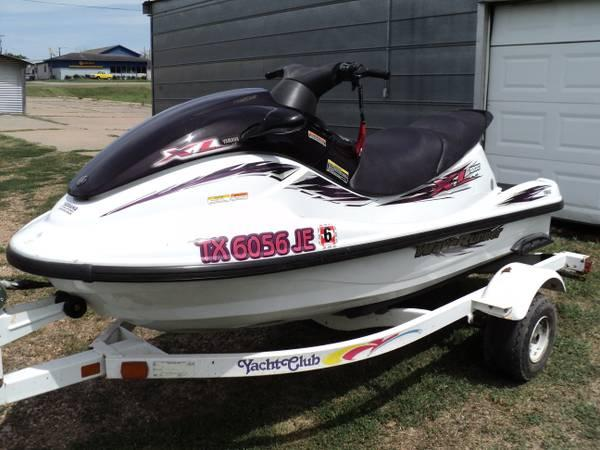 1999 Yamaha Xl 1200 Waverunner With Trailer For Sale In