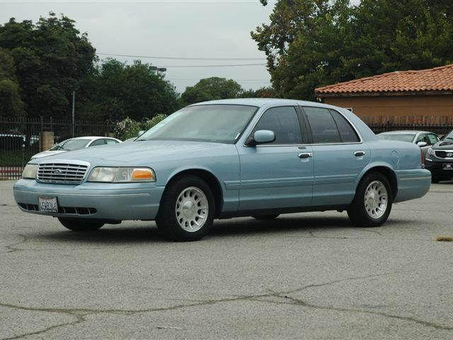 1999 ford crown victoria lx for sale in sherman oaks california